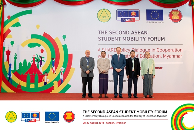 The Second ASEAN Student Mobility Forum, 28-29 August 2018 in Yangon